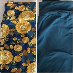 Two OS LuLaRoe Leggings